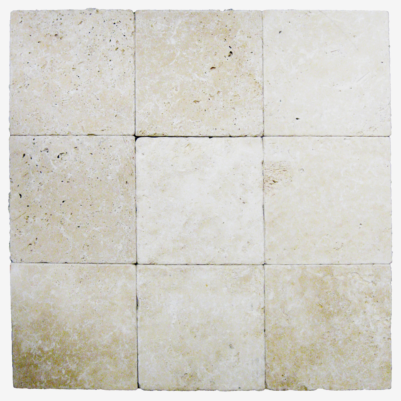 Tumbled Travertine Colors : Ivory tumbled travertine pavers atlantic stone source