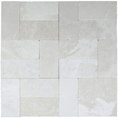 Botticino Tumbled Marble Pavers 6x12