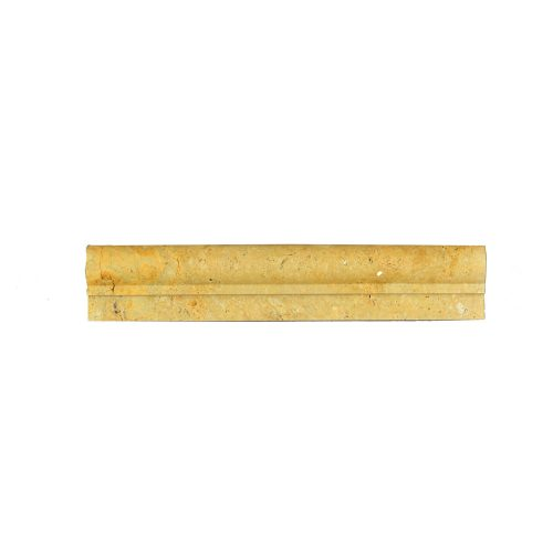 Gold Travertine Chair Rail Ogee 1 Molding-moldings sale-Atlantic Stone Source