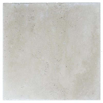 Super Light Brushed Chiseled Travertine Tiles 24x24-Travertine tile sale-Atlantic Stone Source