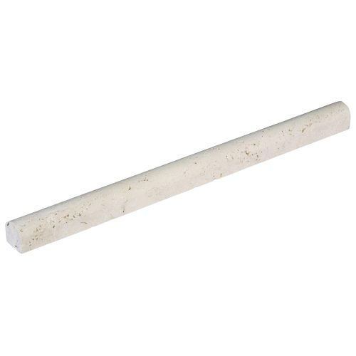 White Travertine Bullnose Pencil Liner-molding sale-Atlantic Stone Source