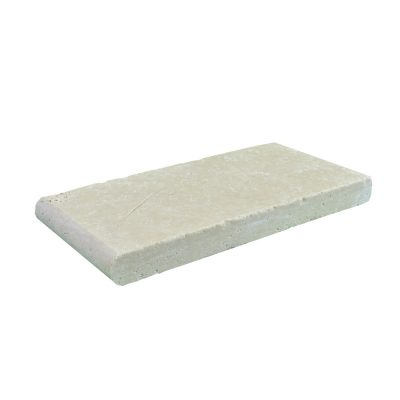 Super Light Bullnose Travertine Pool Copings 6x12