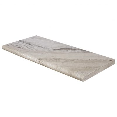 Leonardo Bullnose Travertine Pool Copings 12x24-pool copings sale-Atlantic Stone Source