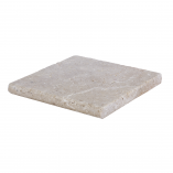 Toscana bullnose travertine pool coping 12x12-pool copings sale-Atlantic Stone Source