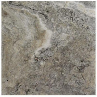 Silver Tumbled Travertine Pavers 16×16-pavers sale-Atlantic Stone Source
