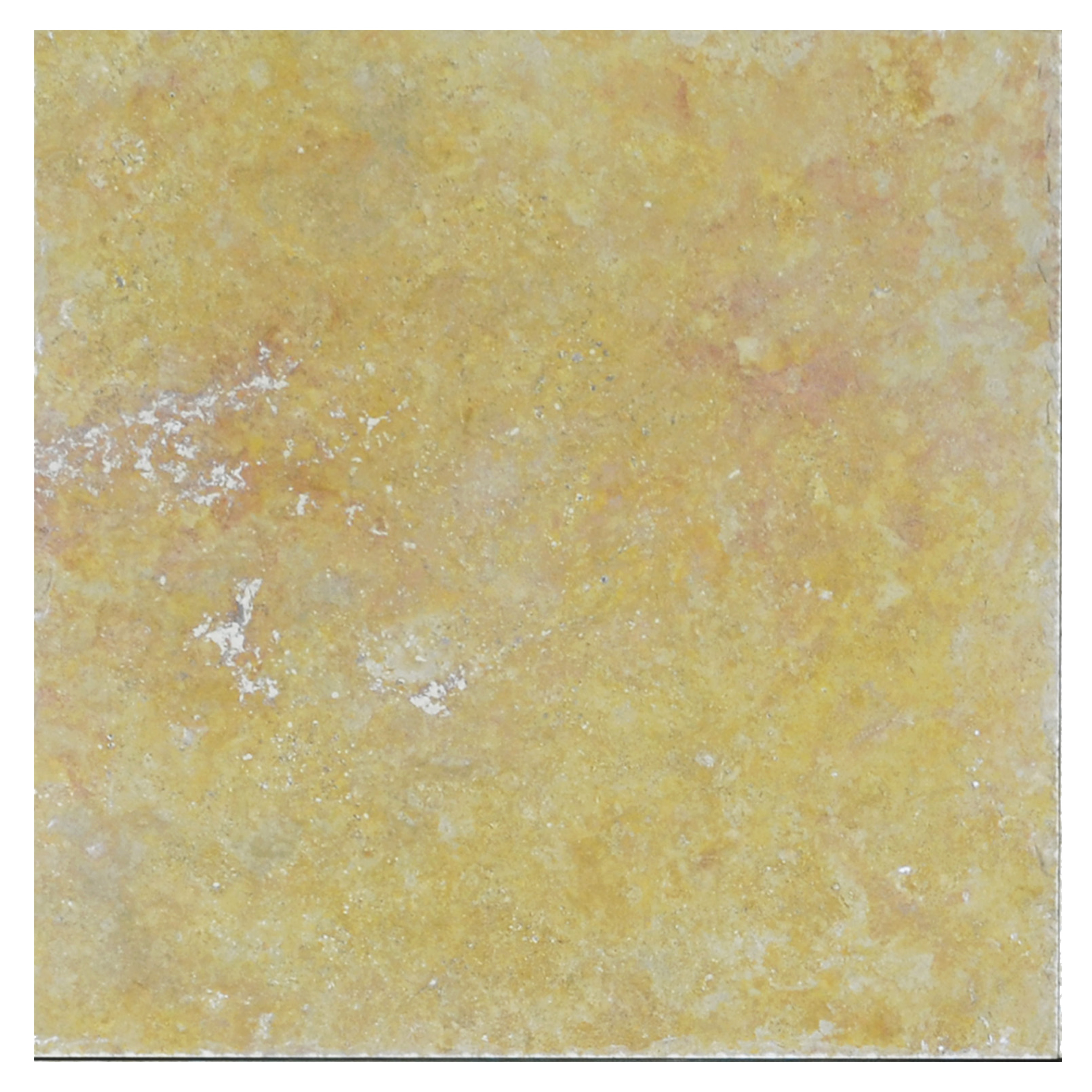 Gold Honed Filled Chiseled Travertine Tiles 18x18 -Travertine tiles sale-Atlantic Stone Source