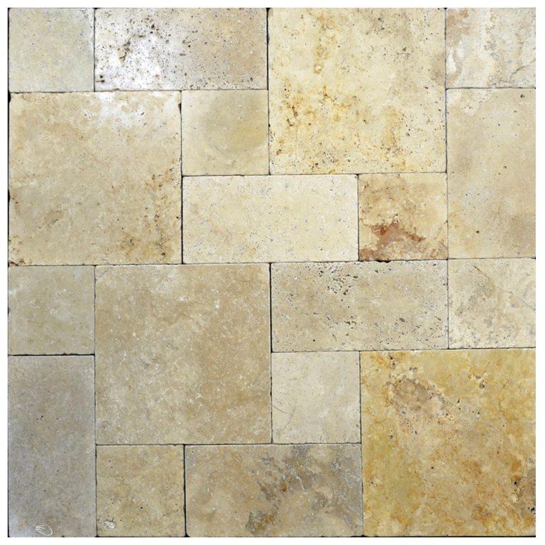 Country classic Roman Pattern Tumbled pavers-pool pavers sale-Atlantic Stone source