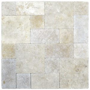 Super Light Roman Pattern Tumbled Pavers-pavers sale-Atlantic Stone Source