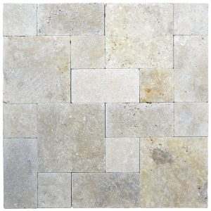 Toscana Roman Pattern Tumbled Pavers-pavers sale-Atlantic Stone Source