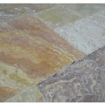 ANTIQUE BLEND TRAVERTINE FRENCH PATTERN TILE -Travertine tiles sale