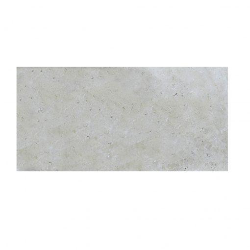 Ivory Tumbled Travertine Pavers 8x16