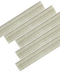 Botticino Beige Marble Chair Rail Ogee 1-moldings sale-Atlantic Stone Source