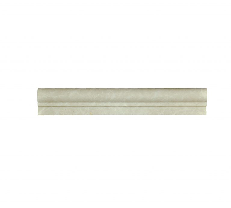 Botticino Beige Marble Chair Rail Ogee 1 Molding-moldings sale-Atlantic Stone Source