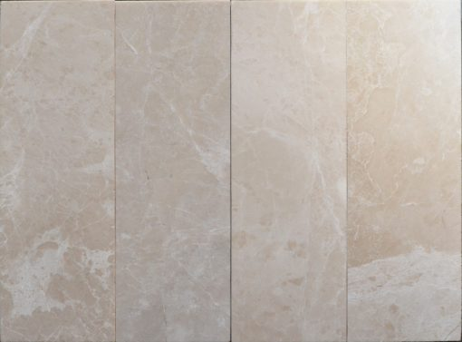 Botticino Beige Polished Marble Tiles 4x12 (2)
