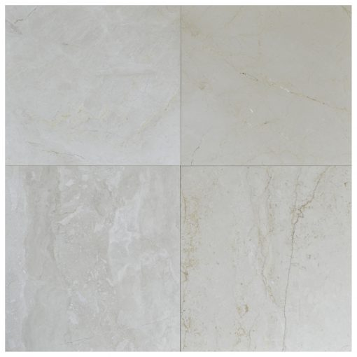 Cream Fantasy Polished Marble Tiles 36x36-marble sale-Atlantic Stone Source