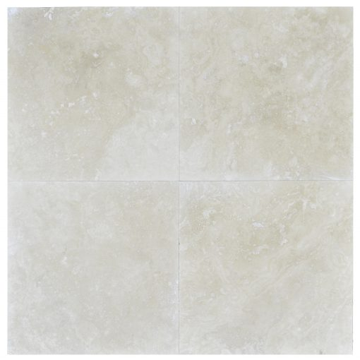 FRIG LIGHT HONED AND FILLED 24x24 TRAVERTINE TILE Travertine tiles sale-Atlantic Stone Source