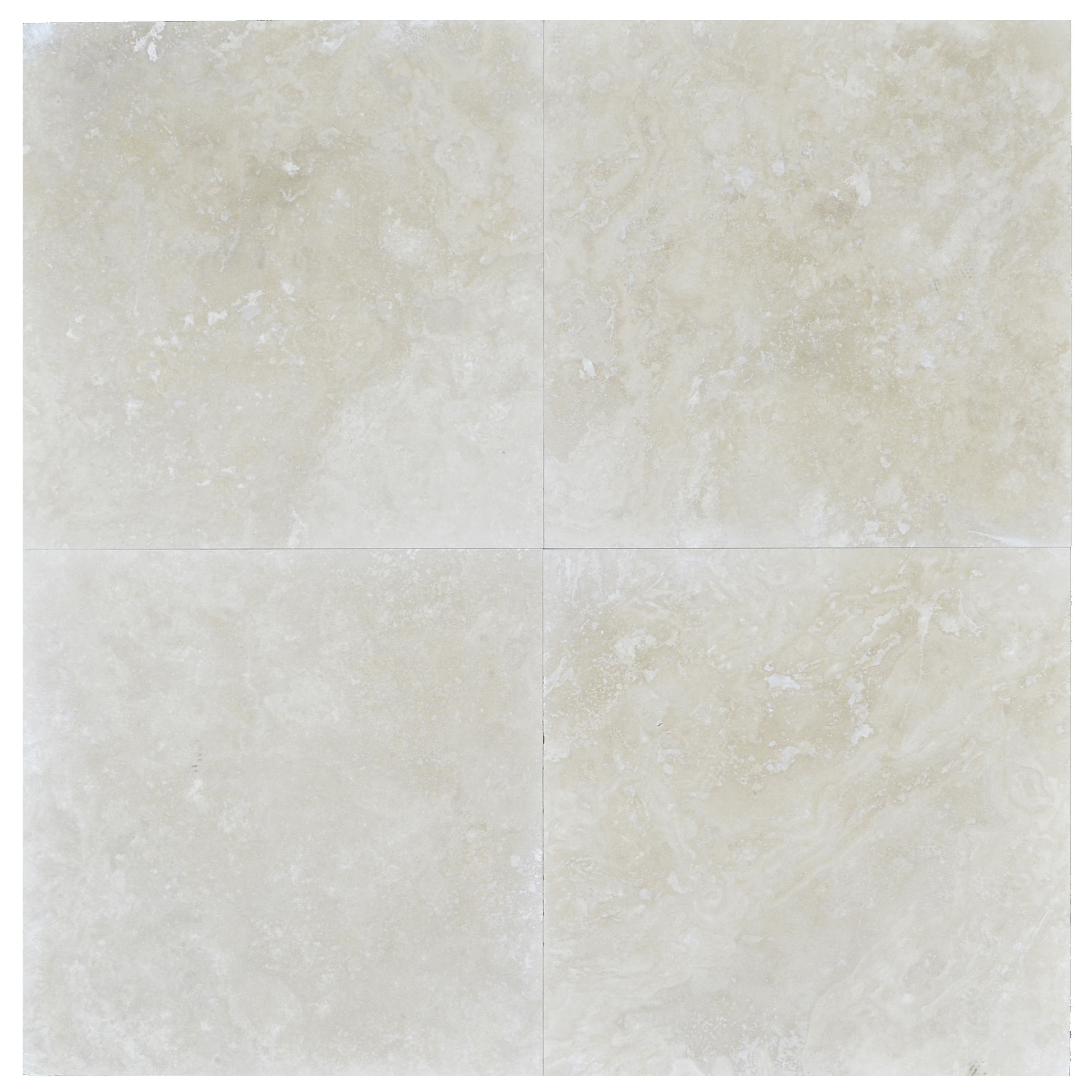 FRIG LIGHT HONED AND FILLED 24x24 TRAVERTINE TILE Travertine tiles sale-Atlantic Stone Source