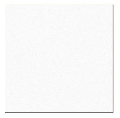 White Glass Porcelain Backing Polished Tiles 24x24