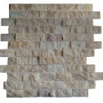 Honey Onyx Split Face Mosaic Tiles 1x2