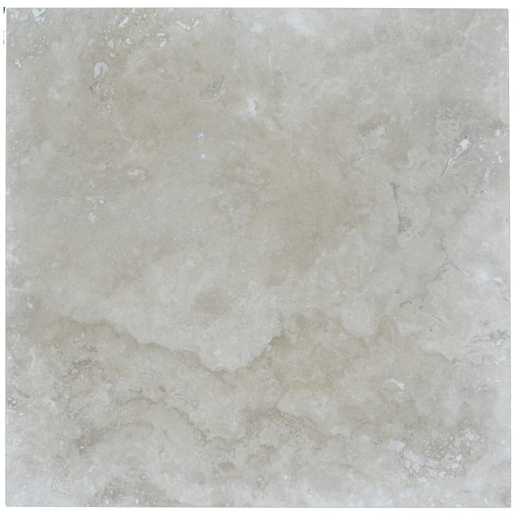 Ivory Light Honed Filled Travertine Tiles 18x18: Ivory Classic Light Honed Filled Travertine Tiles 24x24