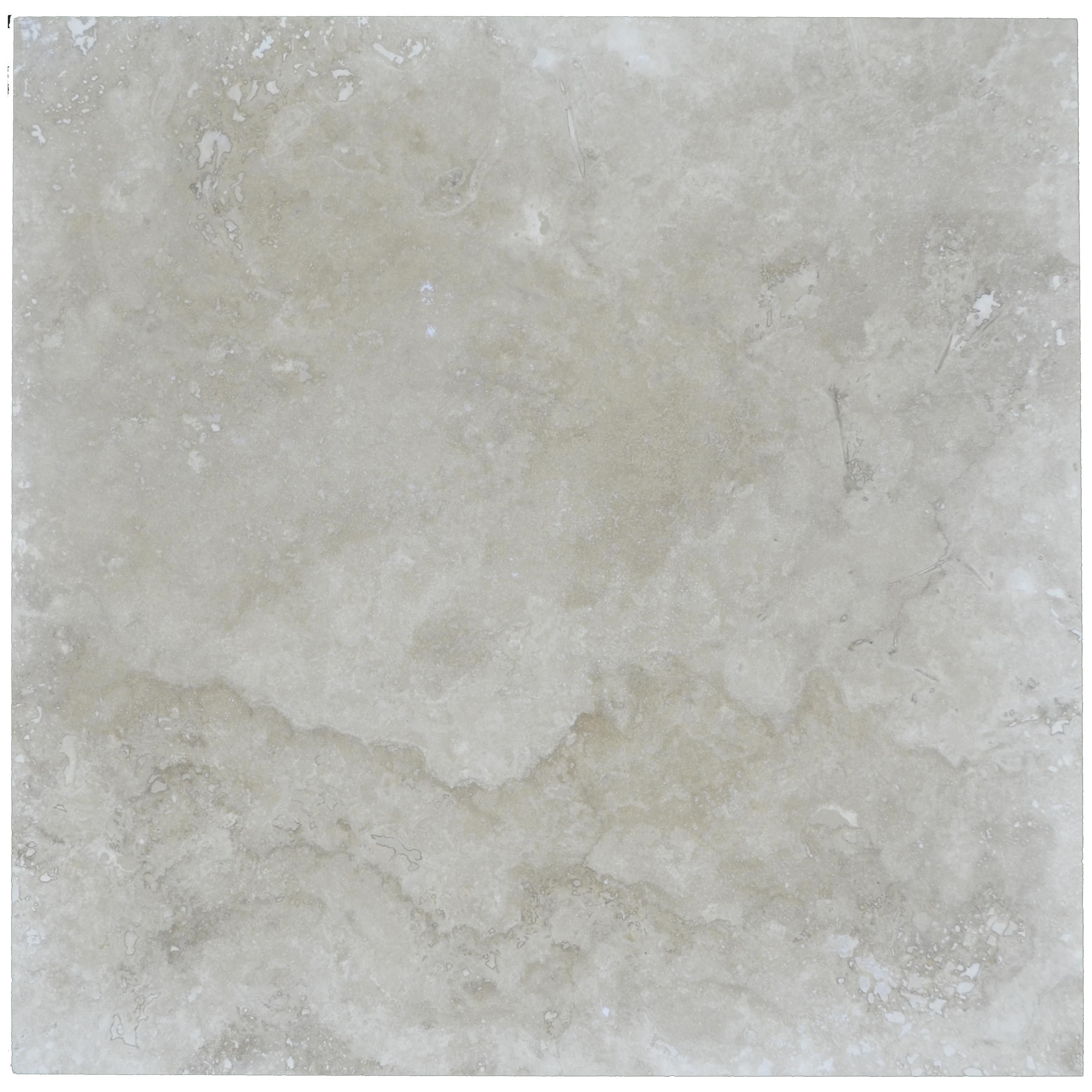 Ivory Classic Light Honed Filled Travertine Tiles 24x24-Travertine tiles sale-Atlantic Stone Source