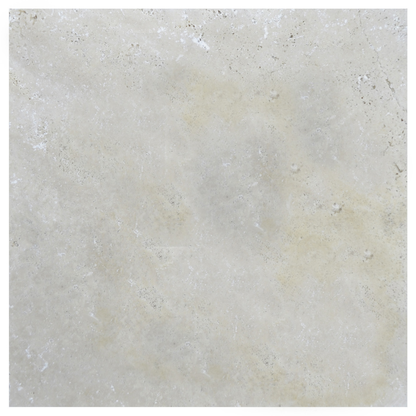 Ivory Tumbled Travertine Pavers 12x12