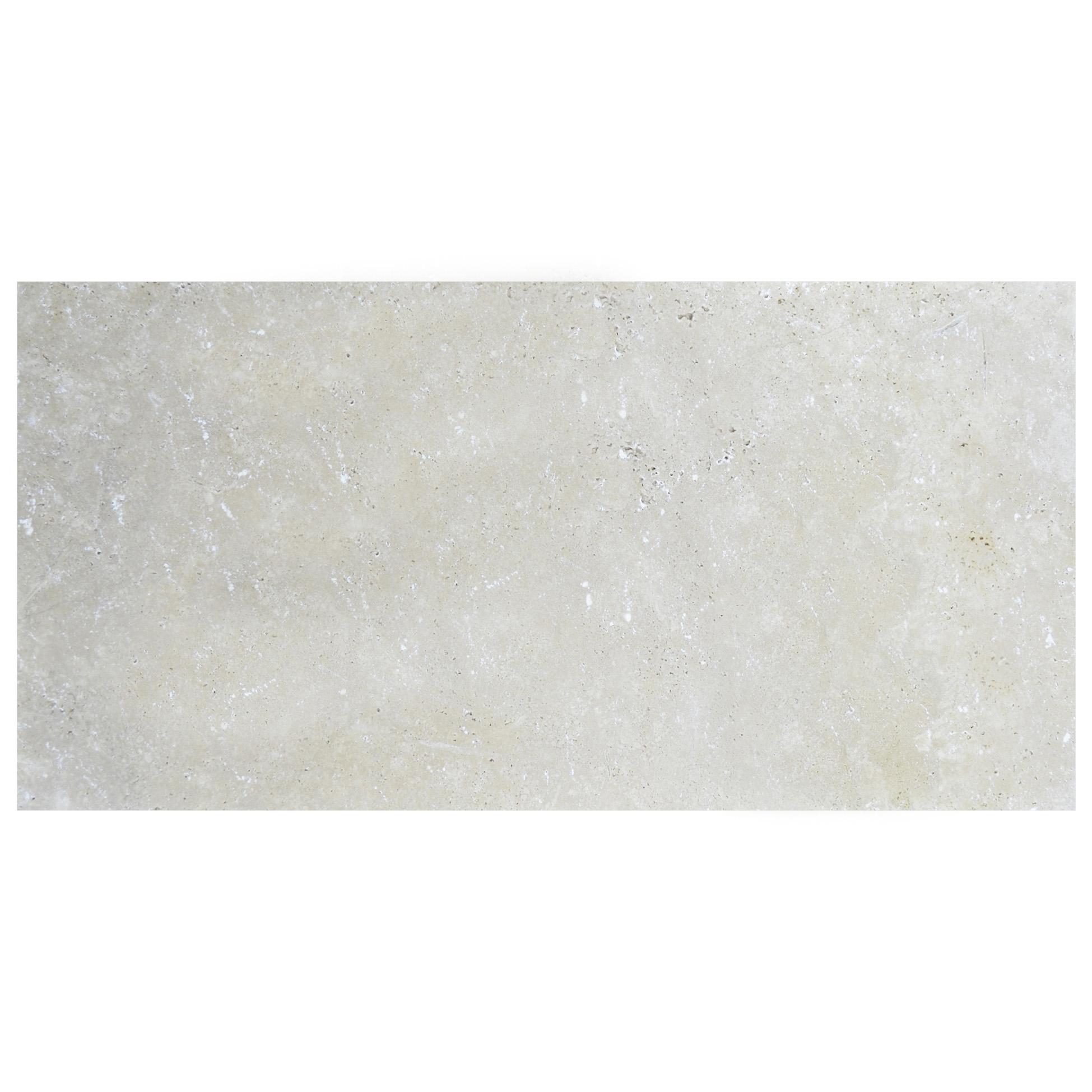 Ivory Tumbled Travertine Pavers 12x24-pavers sale-Atlantic Stone Source