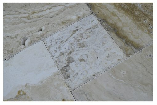 LEONARDO TRAVERTINE FRENCH PATTERN TILE SALE-ATLANTIC STONE SOURCE