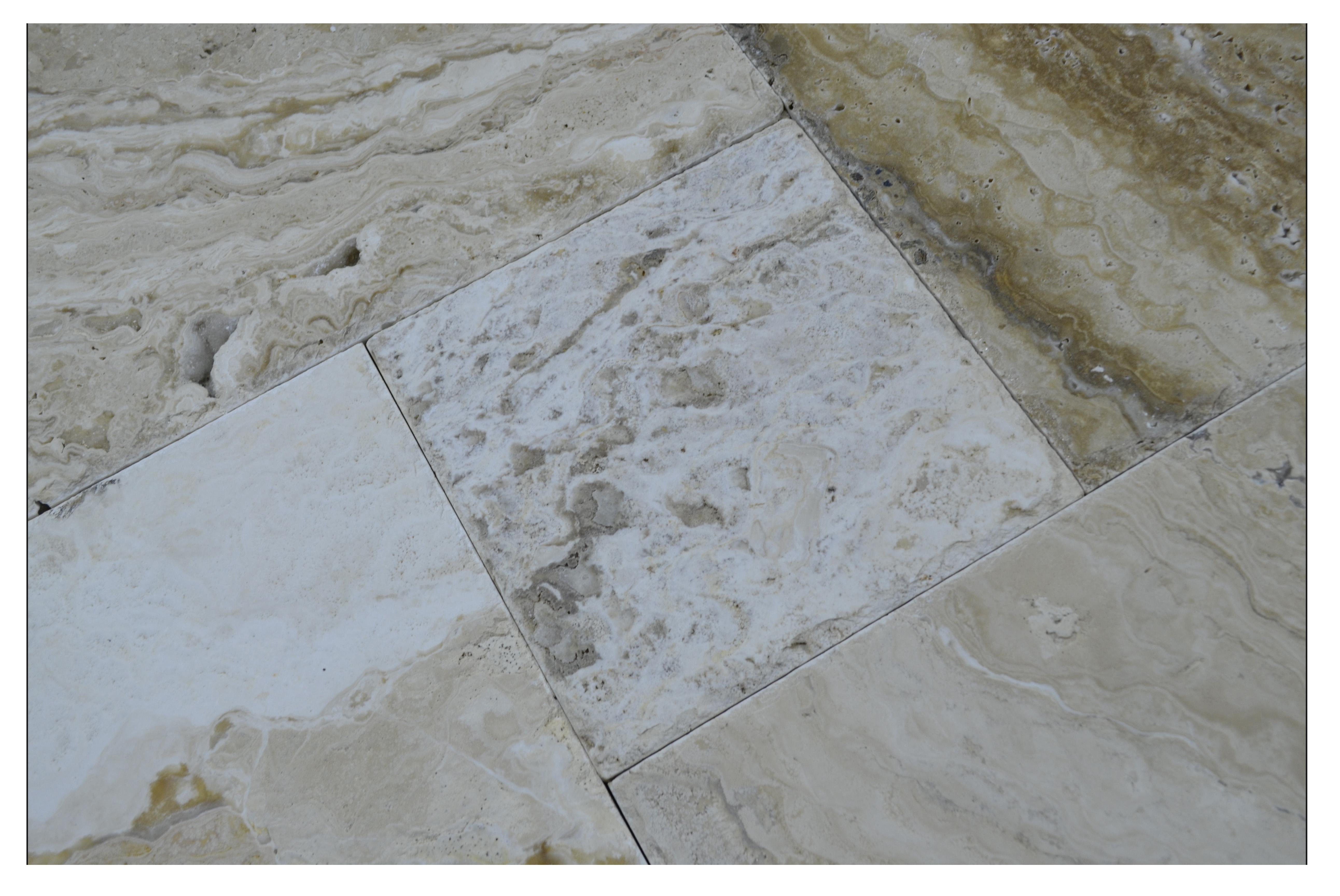 LEONARDO TRAVERTINE FRENCH PATTERN TILE SALE-ATLANTIC STONE SOURCE