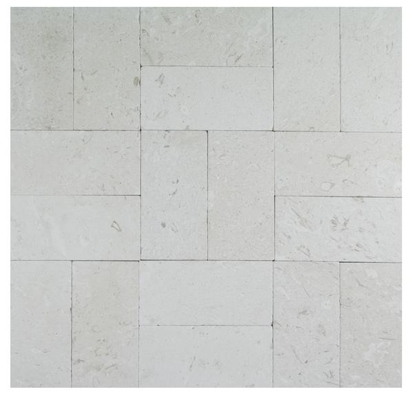 Myra Beige Tumbled Limestone Pavers 6x12