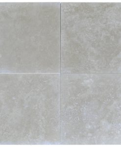 RODOS MEDIUM 24X24 TRAVERTINE TILES HONED AND FILLED -Travertine tiles sale-Atlantic Stone Source