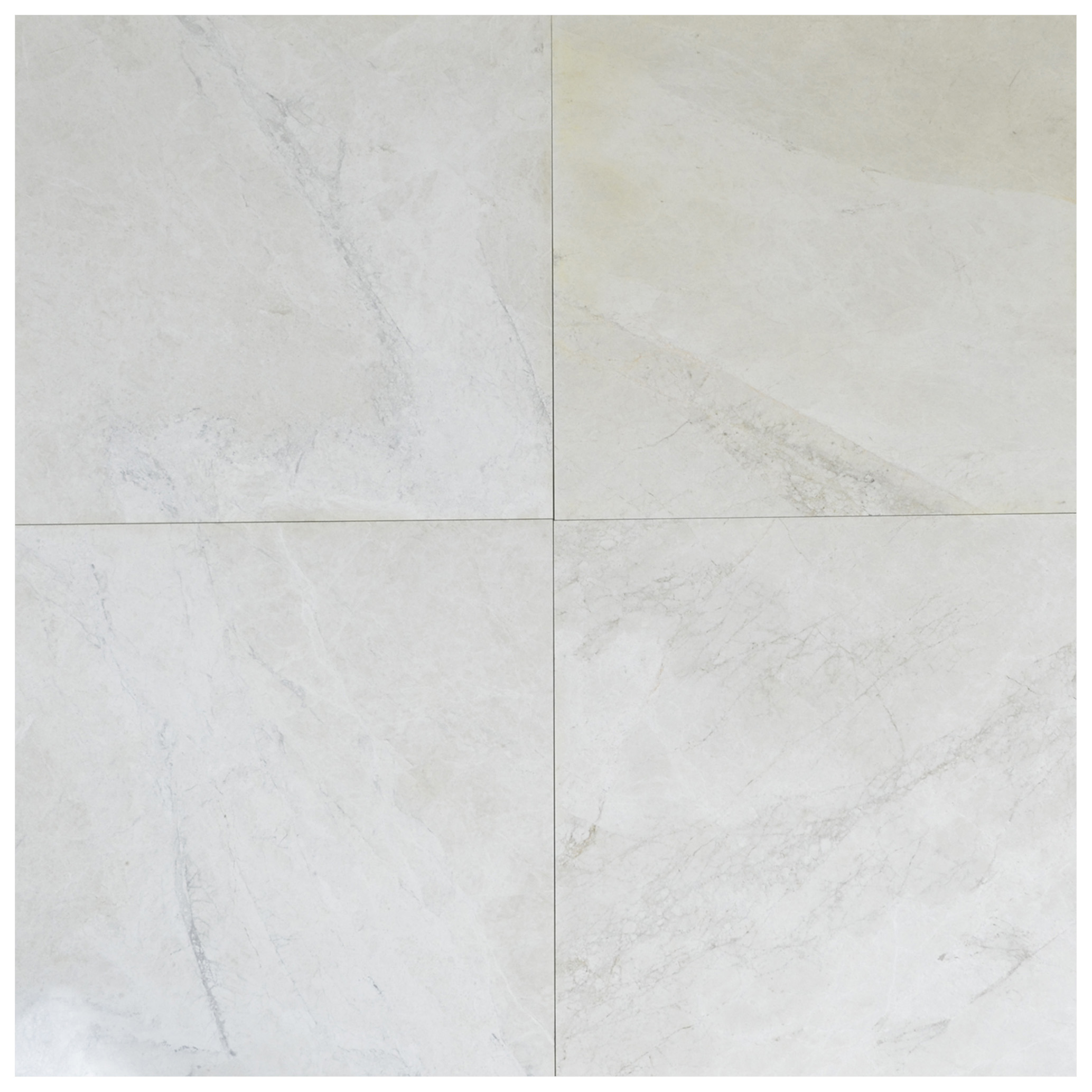 SHOW WHITE MARBLE TILE 18X18 POLISHED-marble sale-Atlantic Stone Source