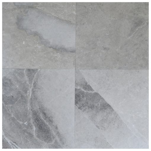 Silver Gray Polished Marble Tiles 24x24-marble sale-Atlantic Stone Source