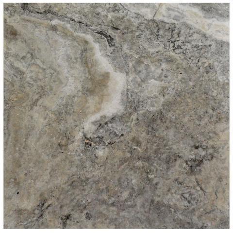 Silver Tumbled Travertine Pavers 24x24