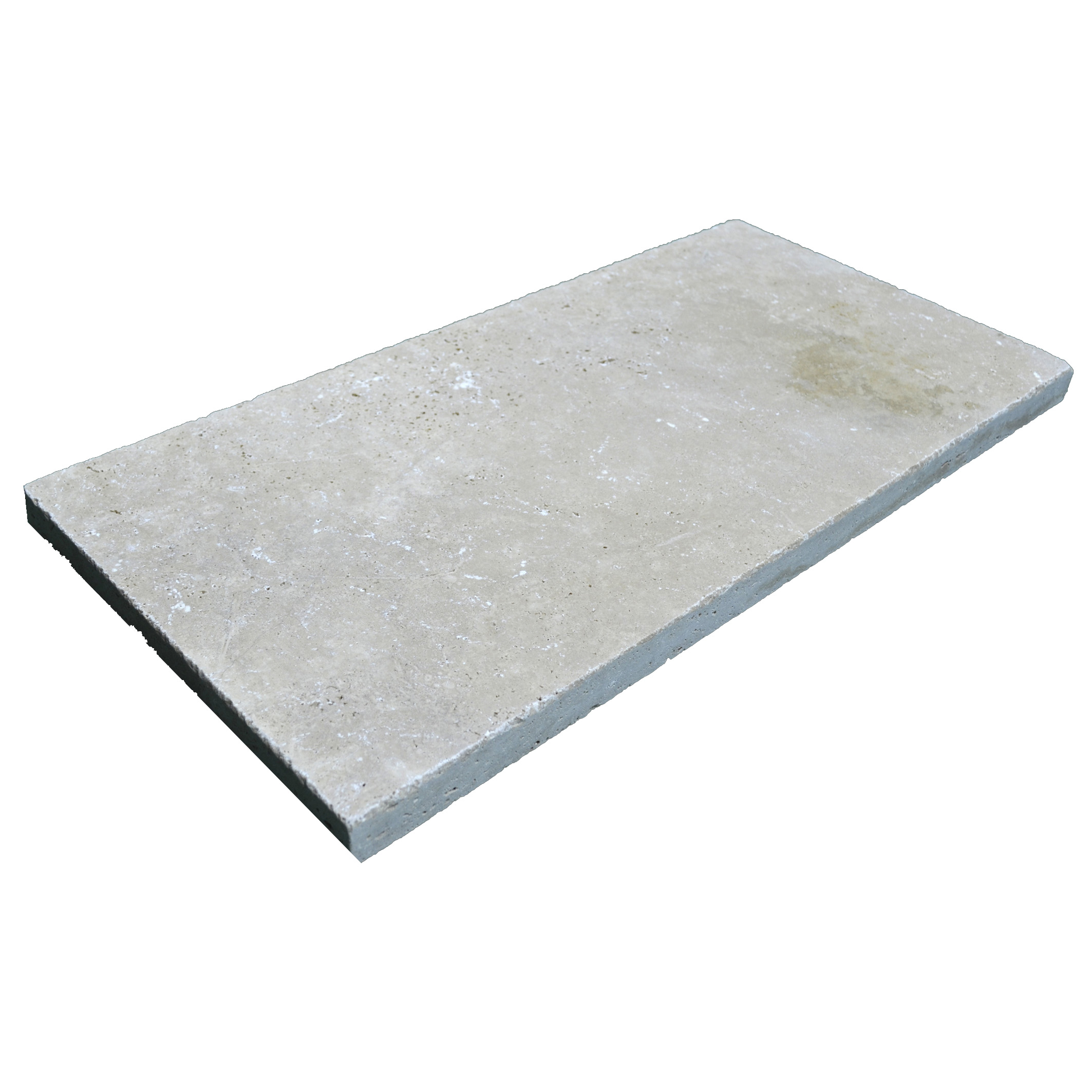 Super Light Tumbled Travertine Pavers 12x24-pavers sale-Atlantic Stone Source