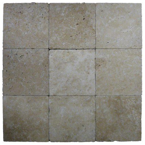 Toscana Tumbled Travertine Pavers 8x8-pavers sale-Atlantic Stone Source