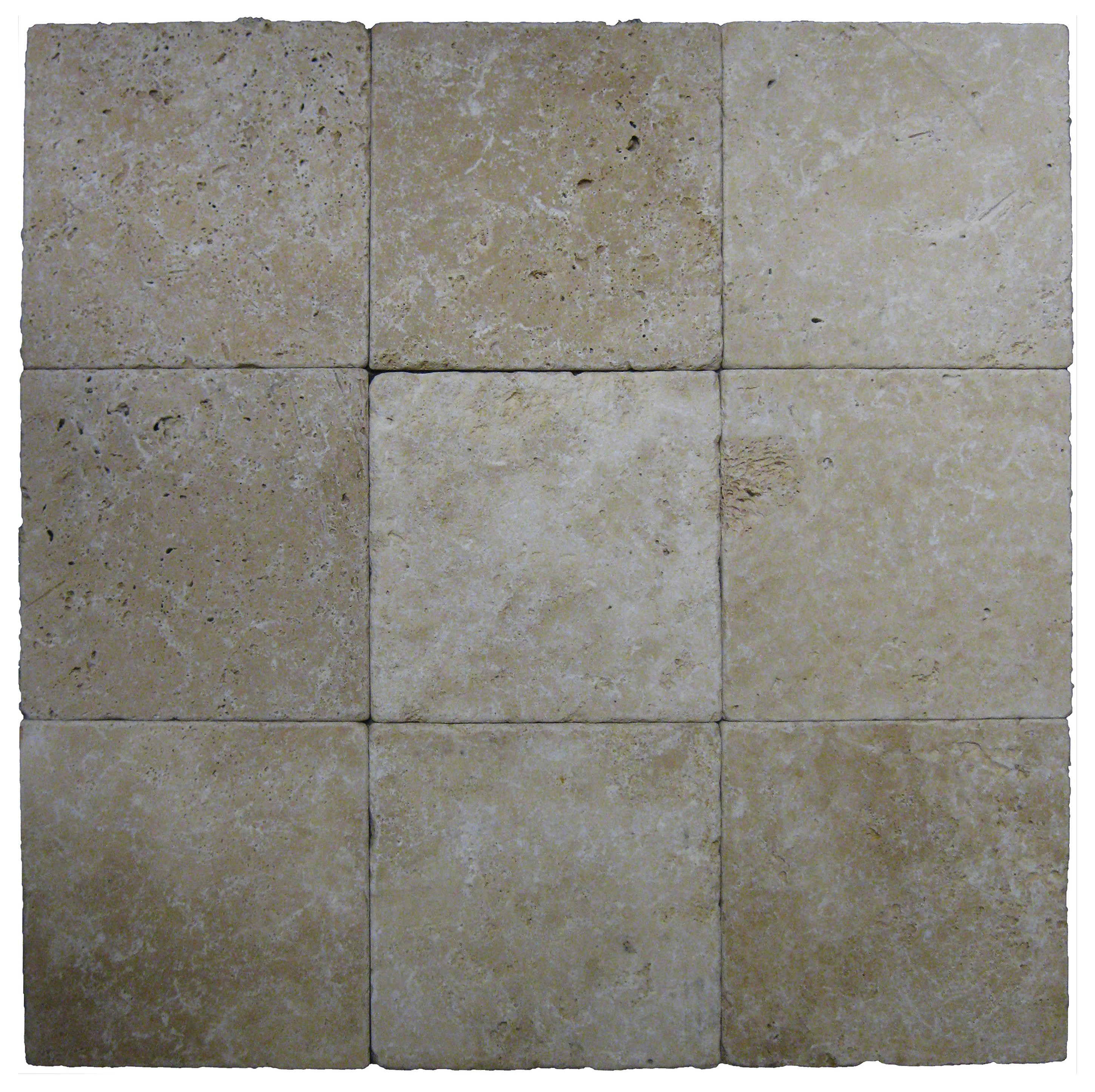 Toscana Tumbled Travertine Pavers 8x8-pavers sale-Atlantic Stone Source