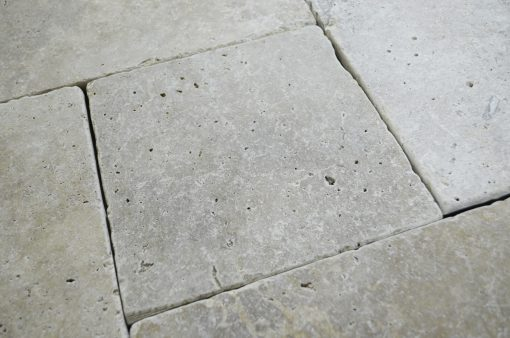WALNUT FRENCH PATTERN TRAVERTINE TILE TUMBLED-Travertine tiles sale-Atlantic Stone Source