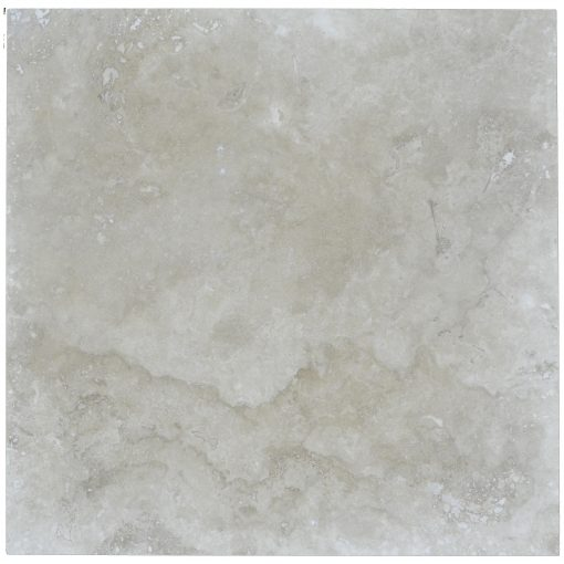 Ivory Classic Light Honed Filled Travertine Tiles 18x18-Travertine tiles sale-Atlantic Stone Source