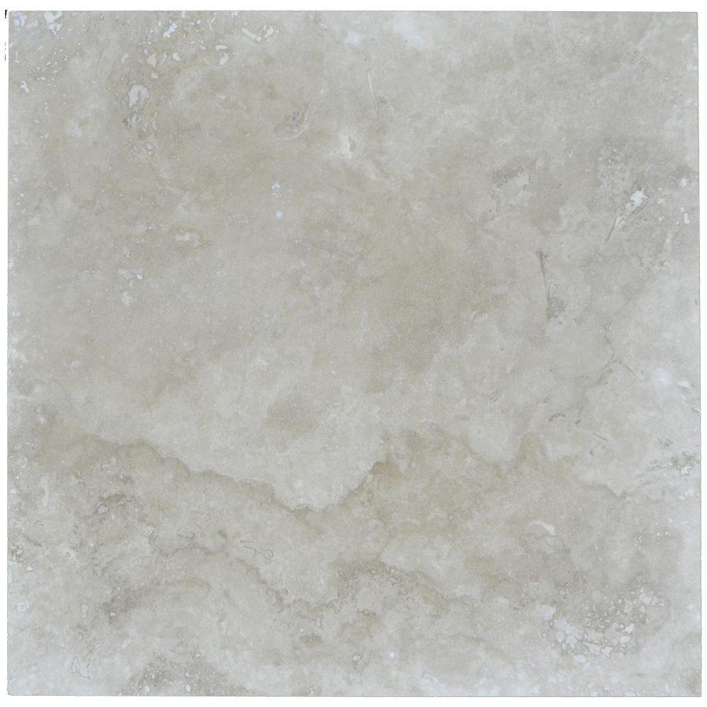 Ivory Classic Light Honed Filled Travertine Tiles 18x18-Travertine tiles sale-Atlantic Stone Source