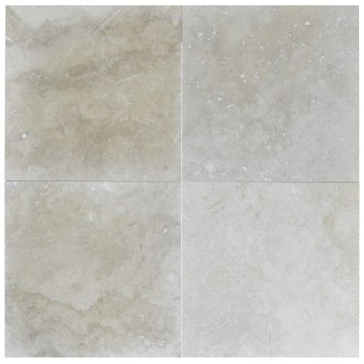 ivory classic light honed and filled travertine tiles 18x18-Travertine tiles sale-Atlantic Stone Source
