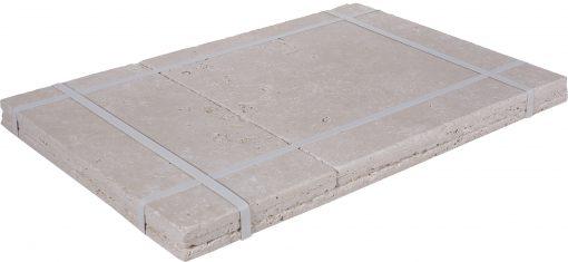 ivory tumbled french pattern tile-Travertine tiles sale-Atlantic Stone Source