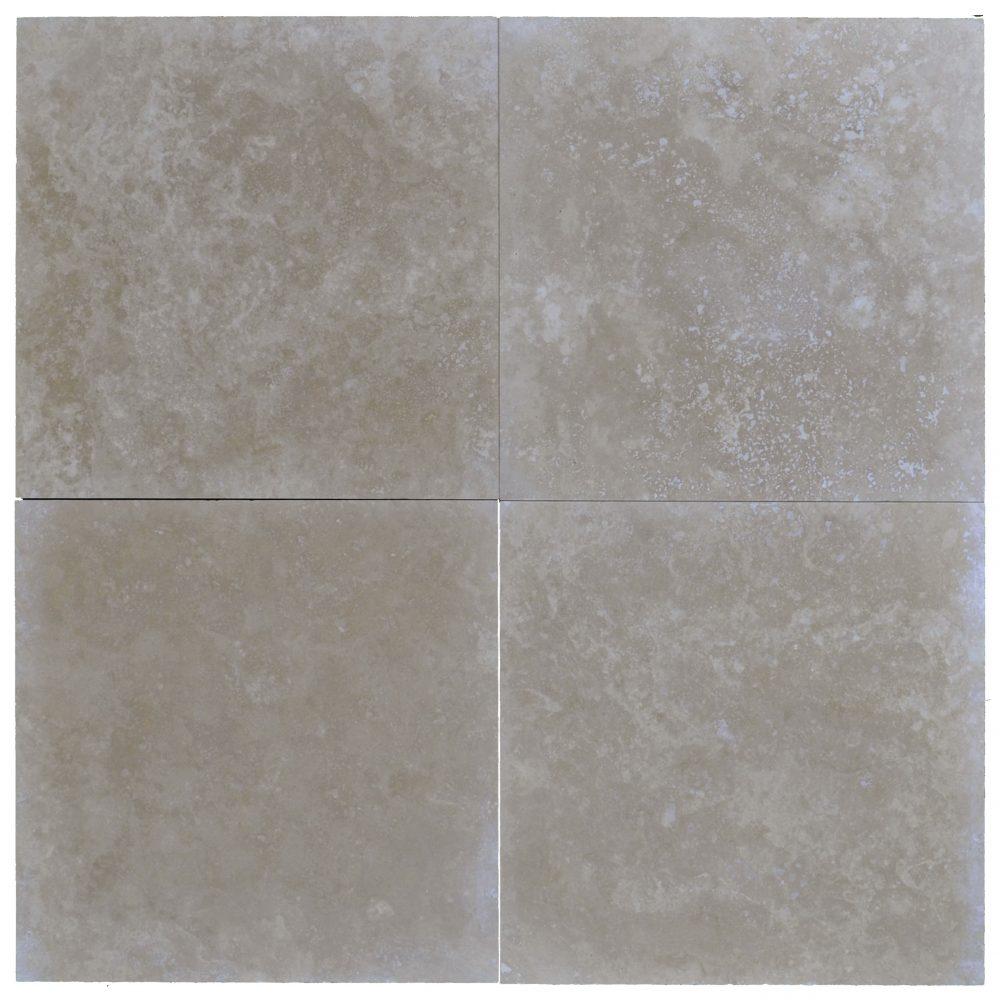 lito medium 18x18 travertine tile honed and filled-Travertine tiles sale-Atlantic Stone Source