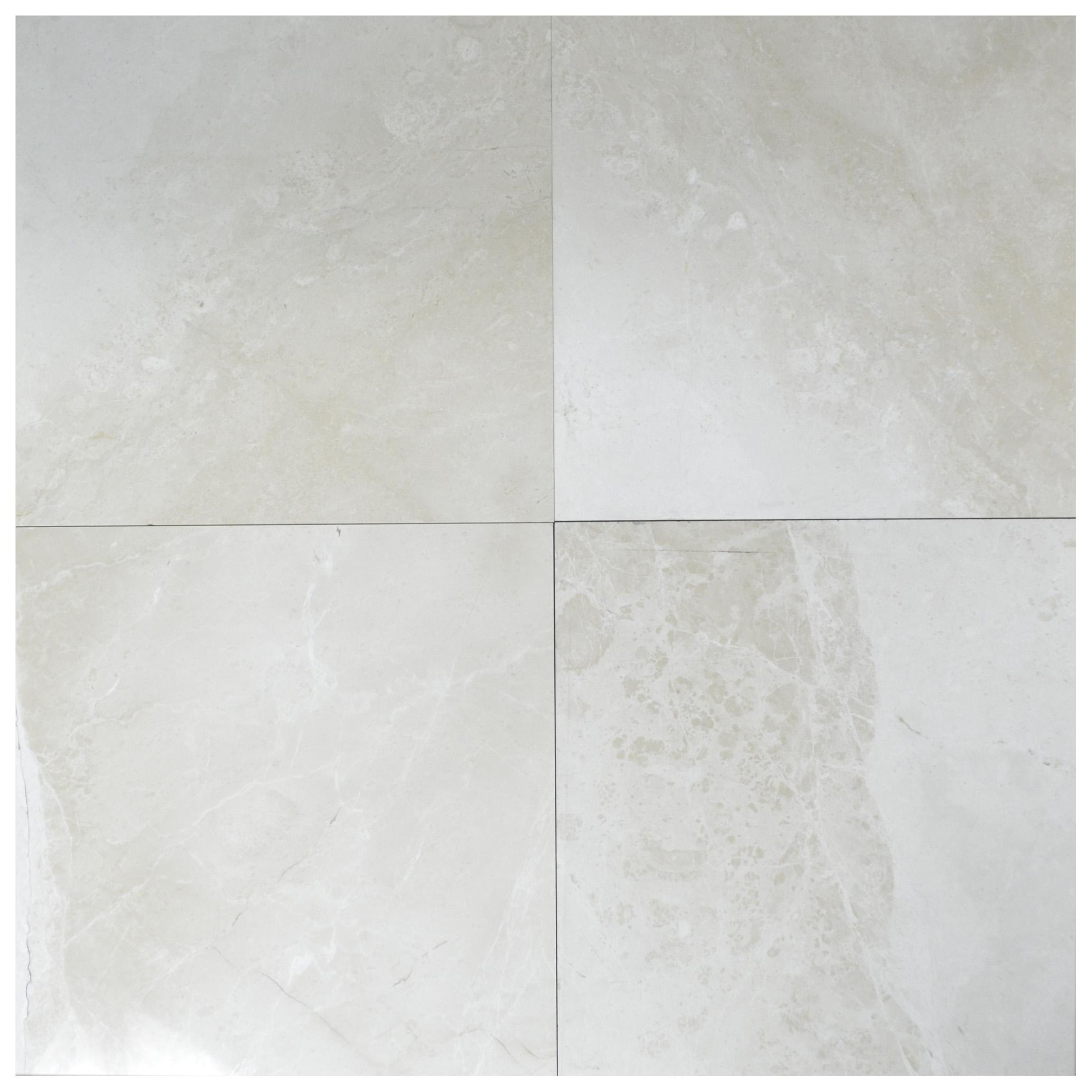 naturella beige classic polished marble tiles 18X18-marble sale-Atlantic Stone Source