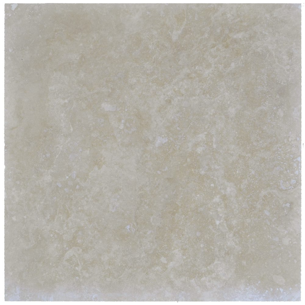 Rodos Medium Honed Filled Travertine Tiles 18x18- Travertile tile sale - Atlantic Stone Source
