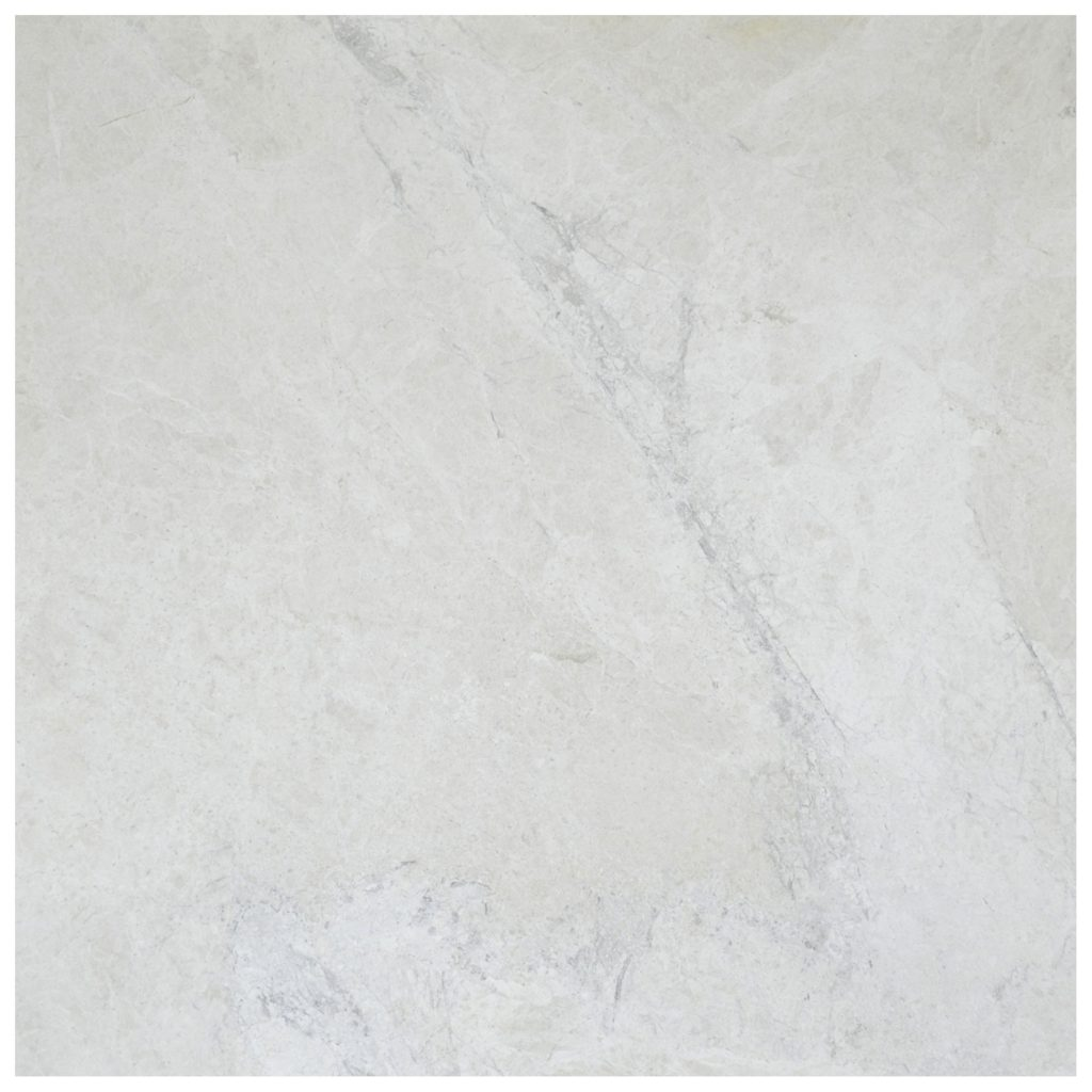Snow White Classic Polished Marble Tiles 18x18