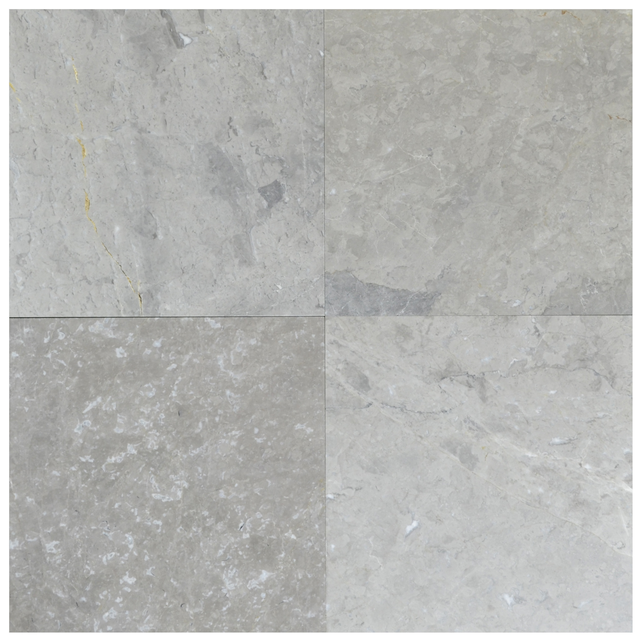 silver belinda polished marble tiles 18x18-marble sale-Atlantic Stone Source