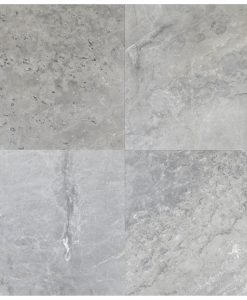 silver brushed marble 18x18-marble sale-Atlantic Stone Source