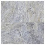 silver honed and filled travertine tiles 18×18-Travertine tiles sale-Atlantic Stone Source (2)