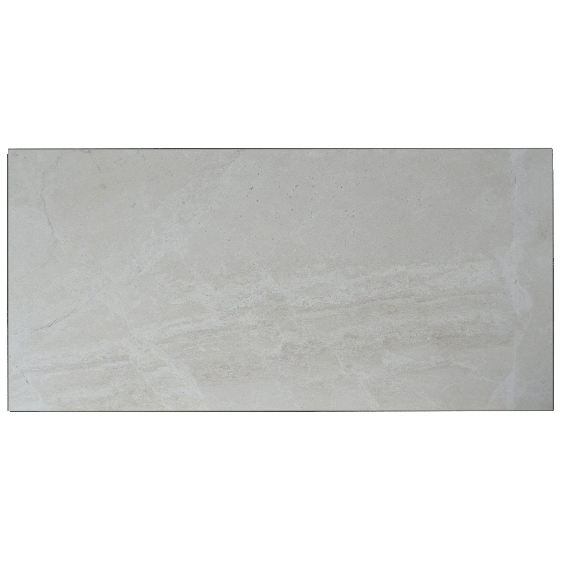 Snow White Polished Marble Tiles 18x36-marble sale-Atlantic Stone Source